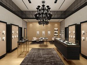All'interno della nuova boutique di Vacheron Constantin nel centro commerciale Yorkdale di Toronto.