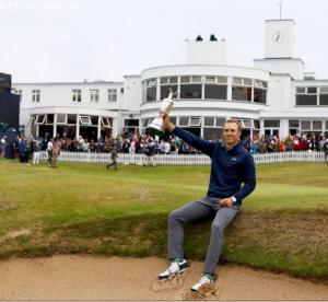 La portavoce di orologi replica Rolex Jordan Spitz ha vinto il titolo britannico Open